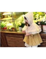 Beautiful Girl Cloak (Almond Color) **BUY 1 FREE 1**