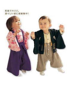 Japanese Style Baby Kimono Rompers (for Boys & Girls)