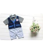 New Arrival - Gentlemen Vest Style Baby Boy Rompers