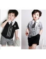 Boy's Gentleman Suits Set