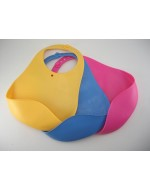 Easy Washing & Roll-able Soft Baby Bibs (Non PVC & BPA Free)