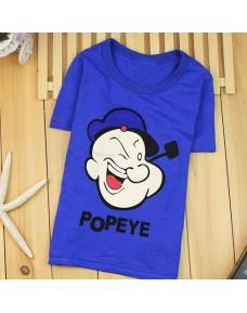 Cartoon Soft Cotton T-Shirts (Popeye)