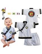 Japanese Baseball Team Style Clothing Set