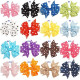 Polka Dots Colorful Grosgrain Ribbon Bows Hair Clips Hair Accessories (16 colors)