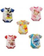 Lovely Cartoons Rompers with front buttons for ease wear (5 Designs)