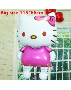 Big Hello Kitty Party Foil Balloons (non-inflated)