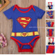 2pcs Superman Romper Set