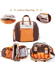 Aardman Multi-purpose/ Diaper Bag (6pcs Set)