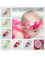 Elegant Flowers Headbands with Rhinestones (6 designs)