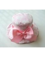 Sweet Ribbon Baby Girl's Hat