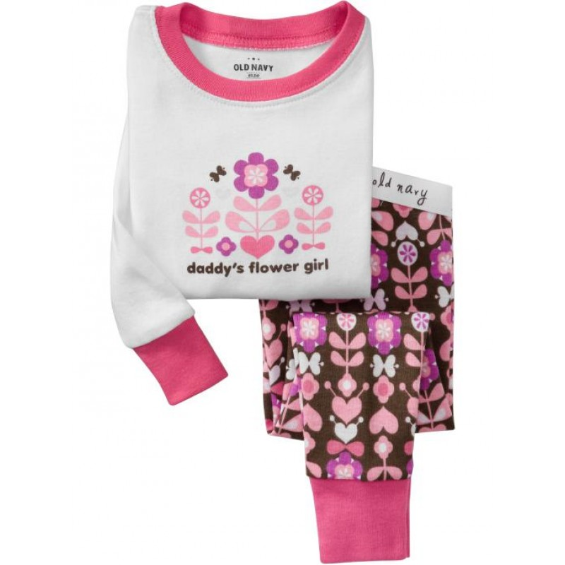 Baby Gap Gift Boxes : Baby gap daddy s flower girl pyjamas