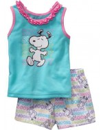 Baby Gap - Sleeves Snoopy T-shirt with pants