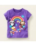 Cutie Rainbow Cartoons T-shirts
