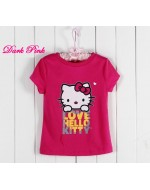 Hello Kitty Short-Sleeve Casual T-shirt
