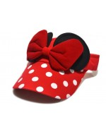 Cute Minnie Polka Dot Bow Hat