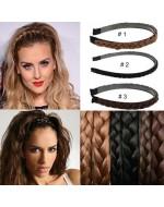 Vintage Twisted Wig Headband/ Plaited Braided Hair Accessories