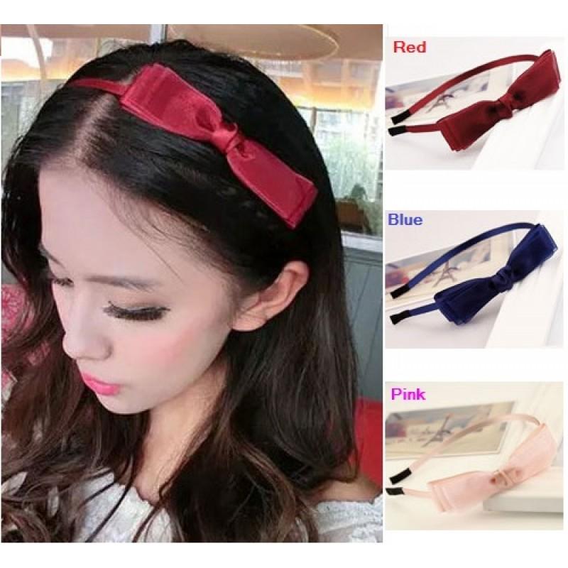 korean style bowknot headband