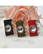 Vintage Jewelry Camera Long Necklace