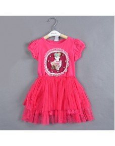 Beautiful Girl Tutu Dress (Made in Korea)