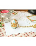 Sweet Carousel Merry-Go-Round Necklace