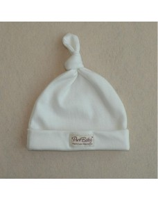 Organic Cotton - Baby Hat (White)