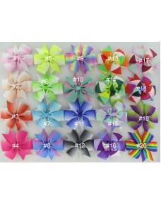 Tone Colors Grosgrain Ribbon Bows Hair Clips Hair Accessories