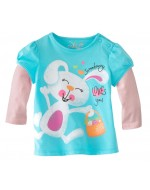 Jumping Beans - Happy Bunny Long Sleeve T-shirt