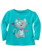 Jumping Beans - Lovely Kitty Long Sleeve T-shirt
