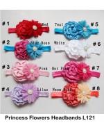Beautiful Princess Flowers Headbands (L121)