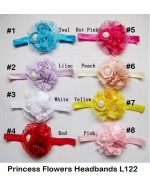Beautiful Princess Flowers Headbands (L122)