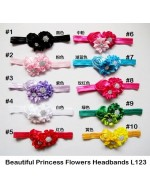 Beautiful Princess Flowers Headbands (L123)