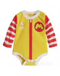 McDonald Long-Sleeve Baby Romper
