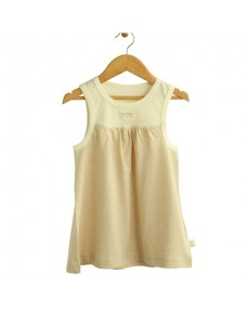 Organic/ Coloured Cotton Sleeveless Dress - P025A