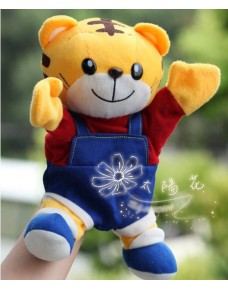 Lovely Tiger (Qiao Hu 巧虎) Plush Hand Puppet