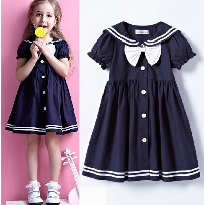 Sweet Sailor Girl Dress