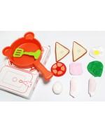 Lovely Qiao Hu Collection -  QiaoHu Little Chef Cooking Set 巧虎小厨师做菜组合
