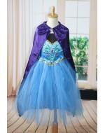 Beautiful Frozen Party Dress (2pcs/Set)