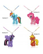 Lovely My Little Pony Cartoon Pendant Necklaces
