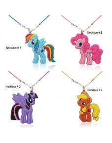 Lovely My Little Pony Cartoon Pendant Necklaces