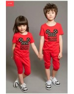Mickey Summer Short Sleeves T-Shirt and Pant Set