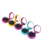 Fashion Airbag Massage Folding Comb With Mirror