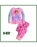 Princess Pajamas Set X037 (Long Sleeve)