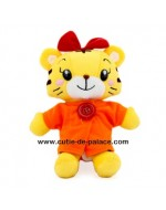 Lovely Xiao Hua (小花)) Plush Toy (Orange/ Blue/ Pink)