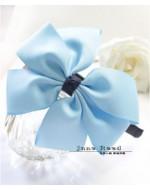 Sweet Blue Ribbon Headband