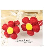 Sweet Red Flower Clip