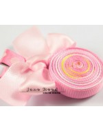 Sweet PINK Lollipop Ribbon Clip (Clip Length: 4.8cm)