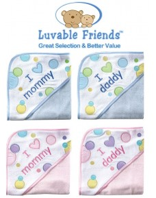 Luvable Friends Hooded Towels