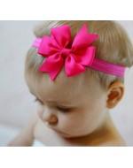 Ribbon Bowknot Elastic Headband (10 Colors)