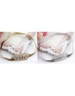 Premium Princess Crown Headbands (Gold/ Silver)