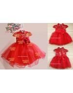 Chinese Collar Style Tutu Dress